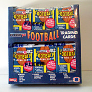 Sealed Box 1992 Fleer Football Jumbo Packs