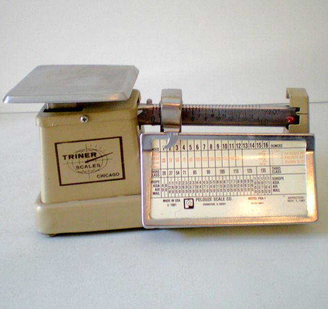1981 Triner Scale Made in U.S.A.