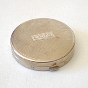 Small Vintage Face Powder Compact Coty