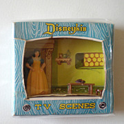 1960s Marx Disneykin TV Scene Snow White
