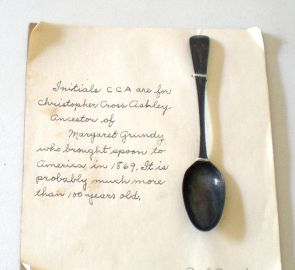 Very Old Spoon With Provenience