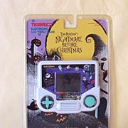 Original 1993 Nightmare Before Christmas LCD Game MIP