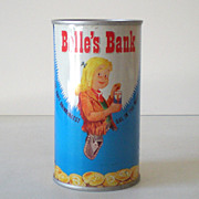 1950s Belfast Tin Soda Advertising Bank