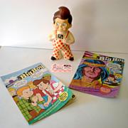 (4) Big Boy Restaurant Advertising Items Bank Comics