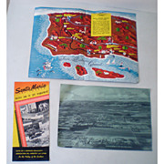 1950s Santa Maria California Information Brochure