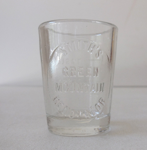 Medicine Dosage Glass Smith's Green Mountain Renovator