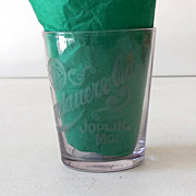 Pre Prohibition Advertising Shot Glass Joplin, Mo