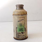 Vintage Watkins Talcum Powder Sample Size Tin