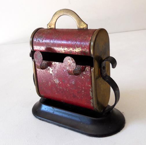 Old Tin Cigarette Dispenser