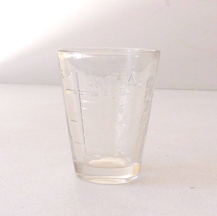 Vintage Glassco Medicine Dose Glass Renovator