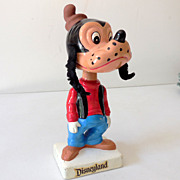 1960s Disneyland Goofy Bobble Head Nodder
