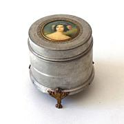 Victorian Vanity Powder Music Box