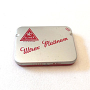 Vintage Ultrex Condom Tin Full