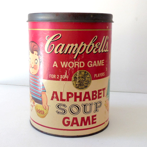 Campbell S Soup Location  Letters