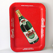Scarce Frank's Ginger Ale Soda Pop Tin Tray