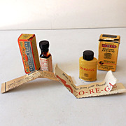 (2) Drug Store Items In Original Boxes With Pamphlets