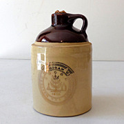 Pottery Crock Jug Western Michigan University