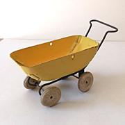 Vintage Wyandotte Metal Doll Baby Buggy