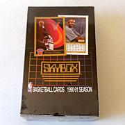 1990-91 Sealed Box 36 Packs Skybox NBA Trading Cards #1