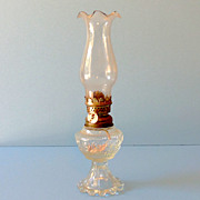Vintage 1960s-70s Miniature Oil Lamp