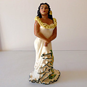 "9"" Julene of Honolulu Hawaiian Hula Girl Figurine"