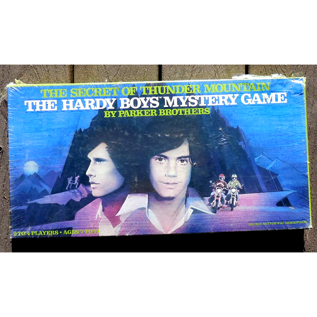 NEVER Opened 1978 Hardy Boys Board Game