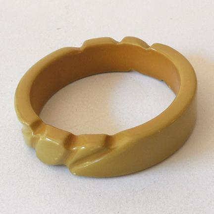 Unusual Vintage 1950s Plastic Bracelet