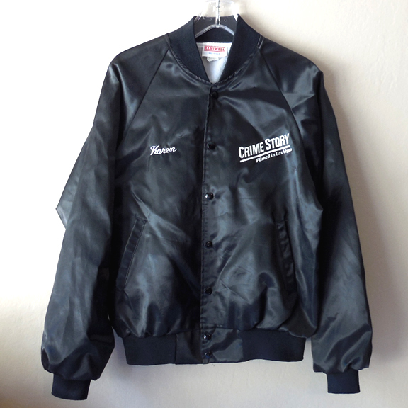 """Crime Story"" TV Series Production Staff Jacket"