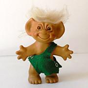 "1950s-60s Uneeda Wishnik Troll Doll 6"""
