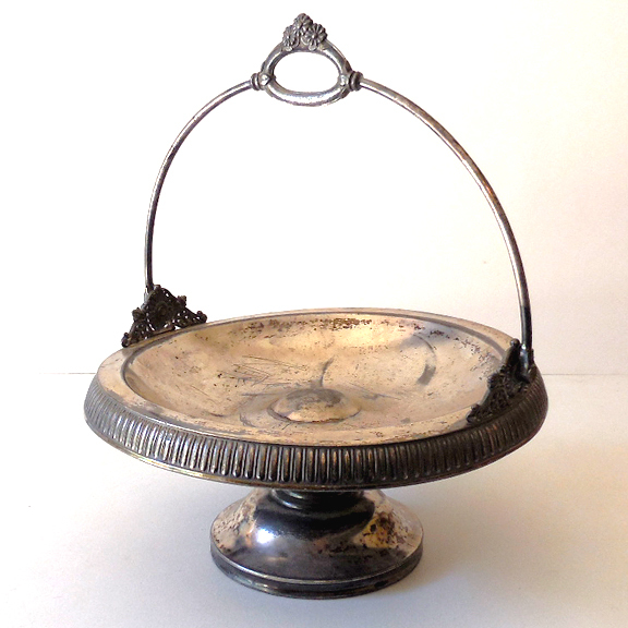 Victorian Silver Plated Bride's Basket Middletown