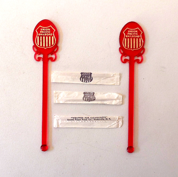 Vintage Union Pacific Railroad Dining Car Items