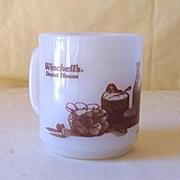Vintage Glassbake Winchell's Donut House Coffee Mug