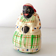 1930s Black Americana Mammy String Holder
