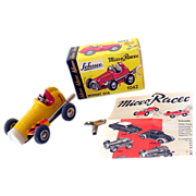 Vintage Schuco 1042 Micro Racer in Box Western  Germany