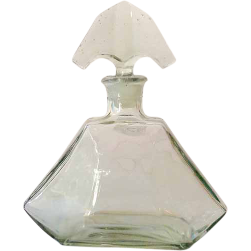 LARGE Empty Glass Perfume Bottle Store Display
