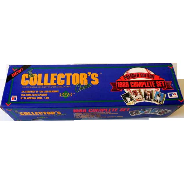 1989 Upper Deck Baseball Complete Factory Sealed Set Ken Griffey Jr. Rookie