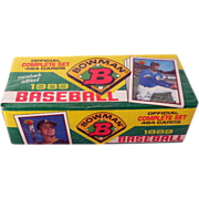 1989 Bowman Factory Sealed Set 484 MLB Cards