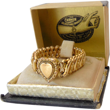 Early 1900s Carmen Adjustable Bracelet In Original Box