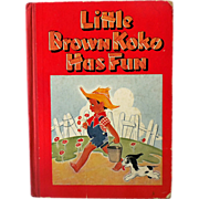 Black Americana Children's Book Little Brown Koko