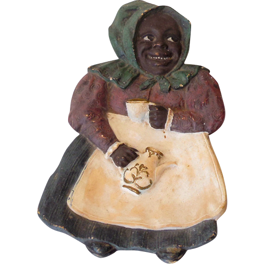 Vintage Black Americana Mammy Spoon Rest Germany