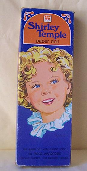 1976 Shirley Temple Paper Dolls In Original Box