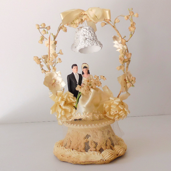 fancy wedding cake toppers fancy 1948 wedding cake topper and groom from 4045