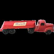 Vintage Tootsietoy Die Cast Metal Mobile Oil Tanker Truck