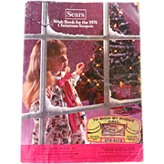 1974 Sears Wish Book Christmas Catalog