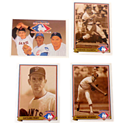 "1991 Upper Deck Baseball ""Heroes"" Insert Set"