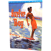 """Surfer Boy"" Soft Cover Illustrated Hawaiian Book"