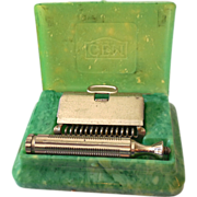 Early GEM Safety Razor in Original Celluloid Box