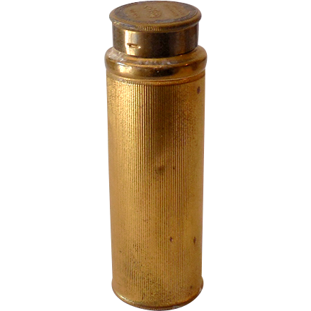 1920s Woodworth Talcum Powder Tin