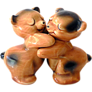 Van Tellingen Brown Bear Hugs Salt & Pepper Set