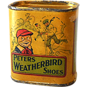 Peters Weatherbird Childrens Shoes Advertising Bank